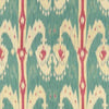 Kravet Fabric by the Yard:  Ikat in Teal