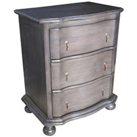 Noir Moira Night Stand, Pale
