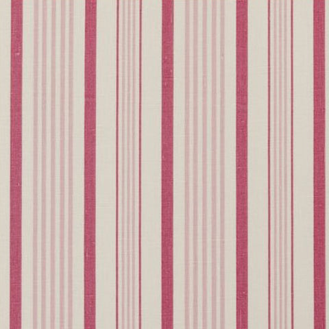 Clarke & Clarke Fabric by the Yard:  Sable in Raspberry