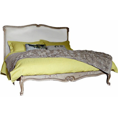 Lindsey Bed in Alpine White