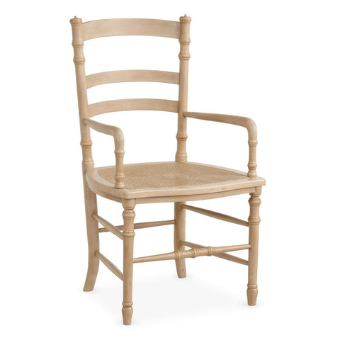 Redford House Swedish Cane Armchair in Cashew