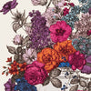 Clarke & Clarke Floribunda Wallcovering in Sunset