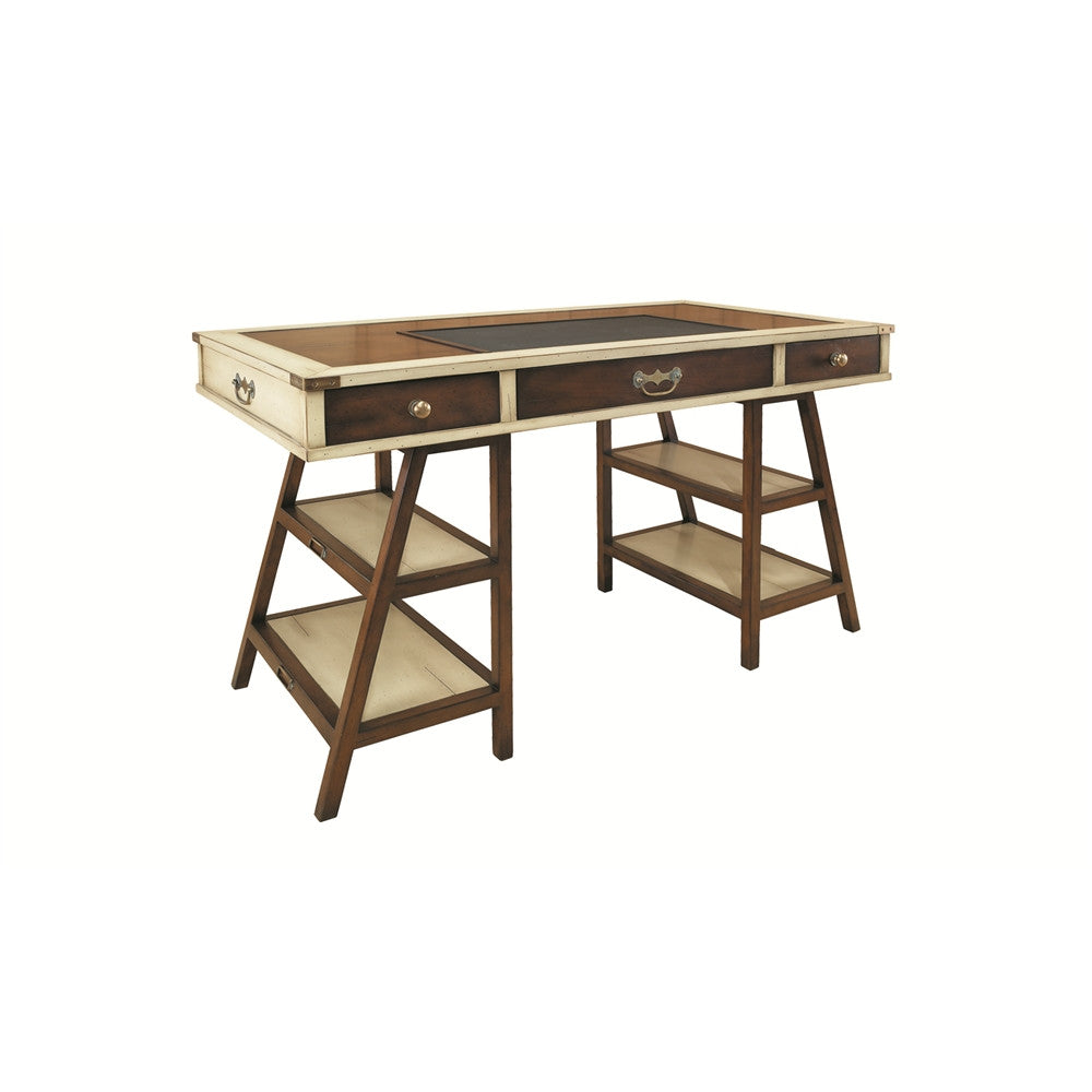 Authentic Models Turtle Pond Desk In Ivory