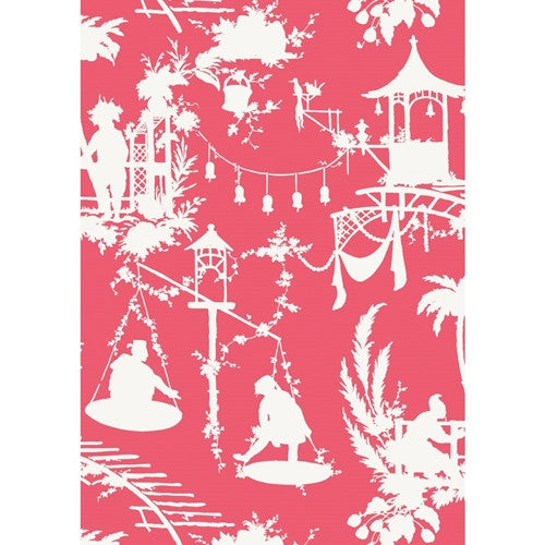 South Sea Wallpaper in Pink
