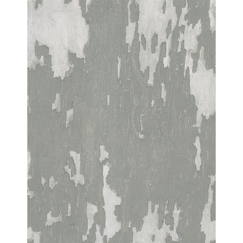 Andrew Martin Crackle Wallpaper in Grey