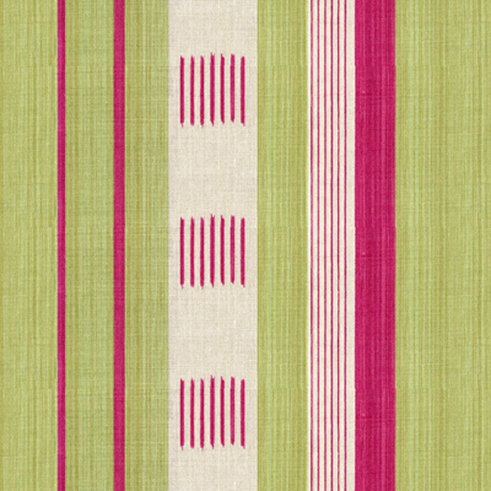 Kravet Fabric by the Yard:  Malabar in Pink/Green