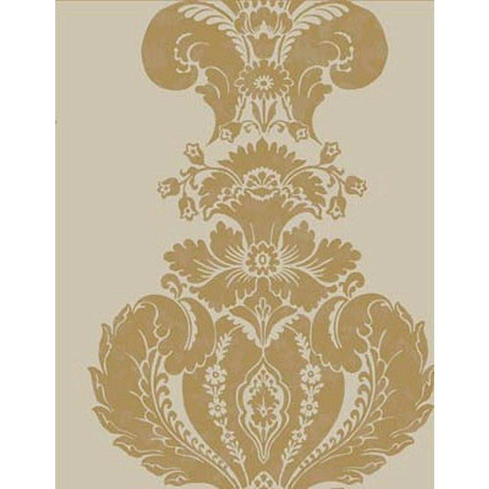 Cole And Son Baudelaire Wallpaper in Linen/Gold