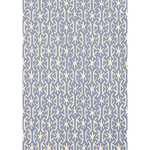 Rinca Wallpaper in Blue