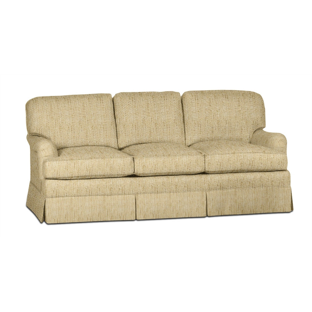Kravet Vernon Sofa In Wheat Woven