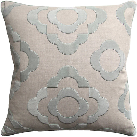 Ryan Studio Tremoille Pillow in Aqua