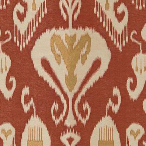 Kravet Fabric by the Yard:  Gilded Ikat in Spice