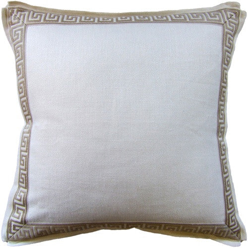Ryan Studio Aegean Pillow In Ivory
