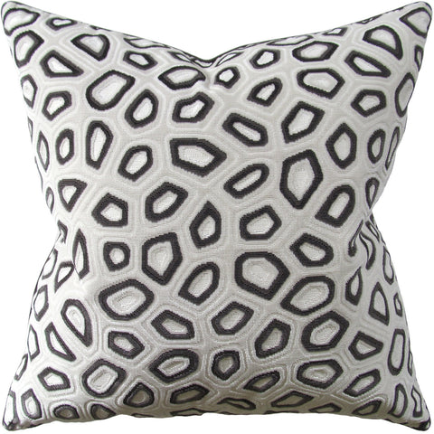 Ryan Studio Chic Tortoise Pillow in Steel