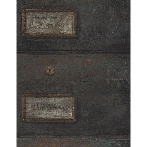 Andrew Martin Curator Wallpaper in Oxidized