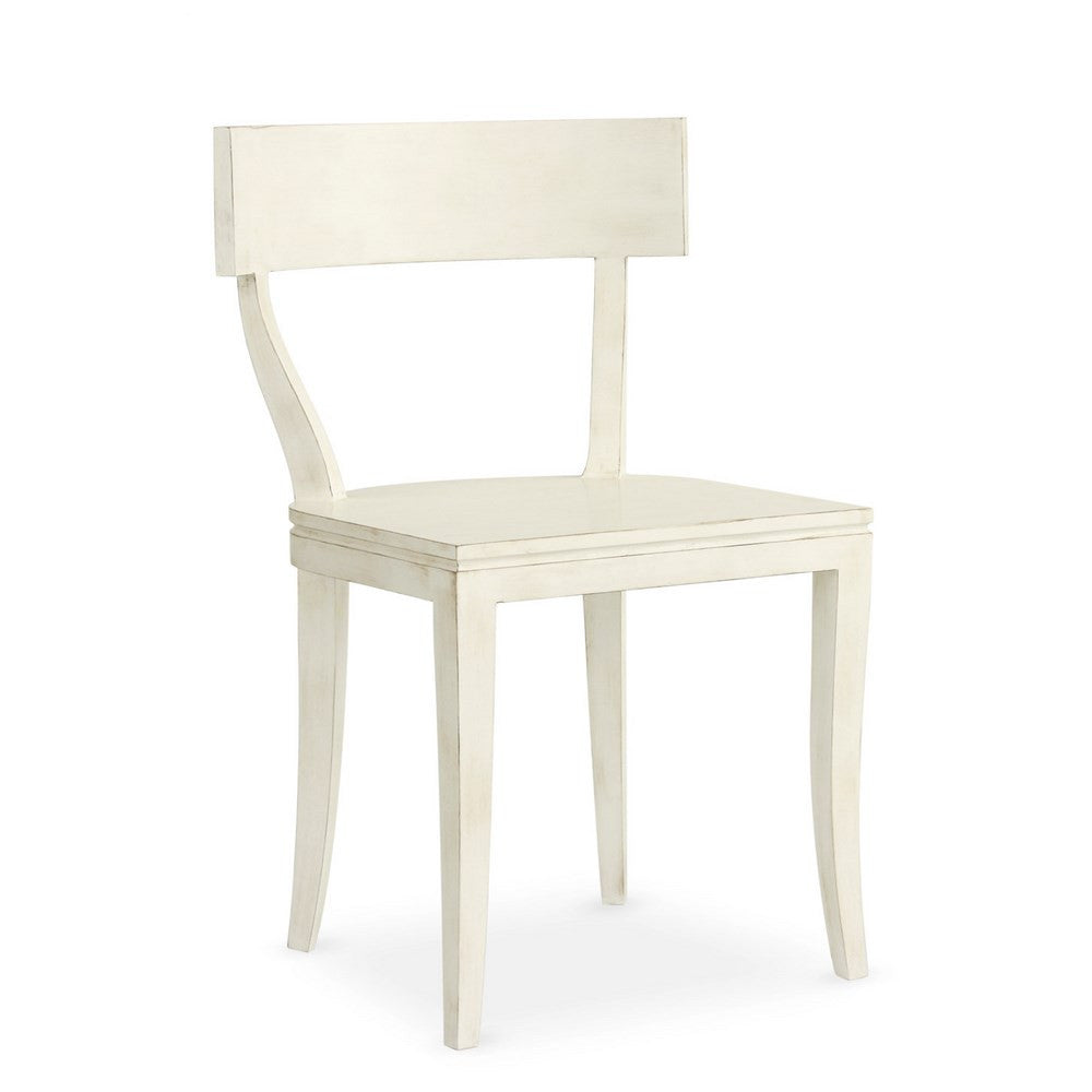 Redford House Thomas Side Chair in Raw Cotton