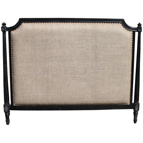 Noir Isabelle Headboard, CA King, Hand Rubbed Black