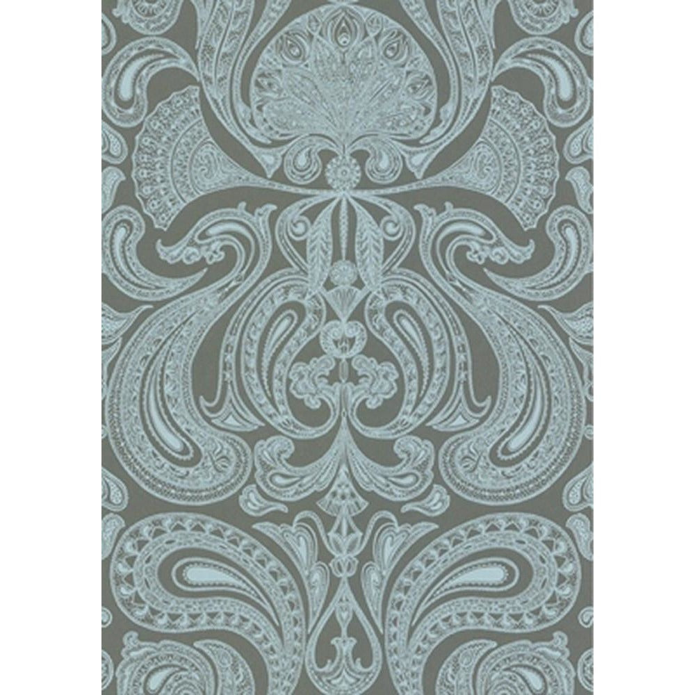 Cole And Son Groovy Paisley Wallpaper in Sage