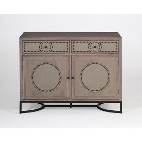Gabby Home Ludlow Vintage Style Media Cabinet