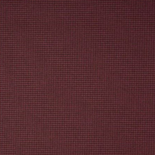 Clarke & Clarke Fabric by the Yard:  Houndstooth Check in Chocolate/Magenta