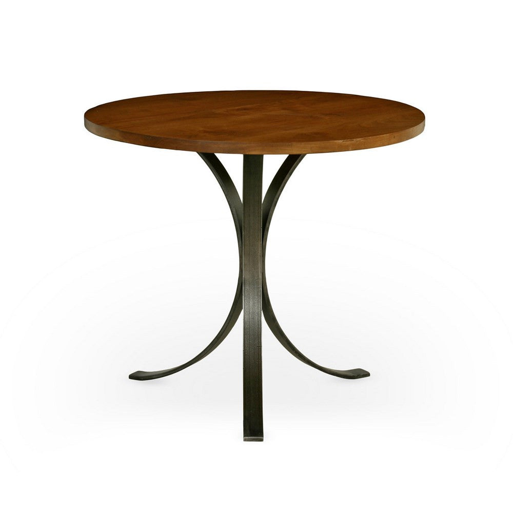 Redford House Quincy Round Dining Table in Almond, Lg.