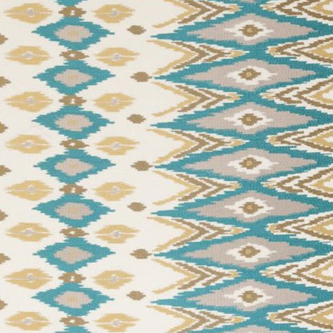 Clarke & Clarke Fabric by the Yard Nomad Teal