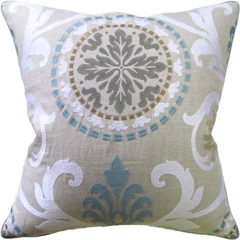Ryan Studio Banyan Pillow in Aqua