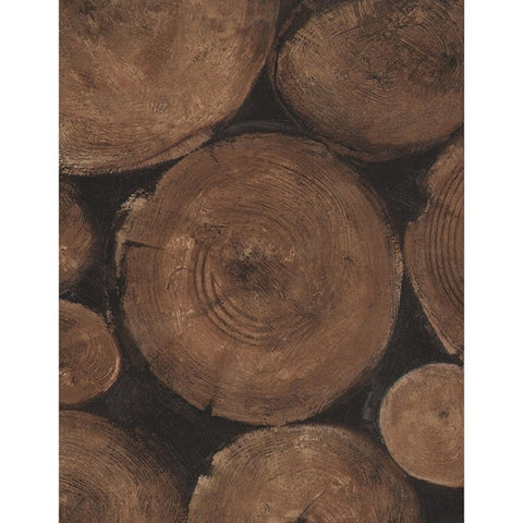 Andrew Martin Lumberjack Wallpaper in Timber