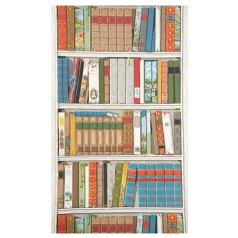 Kravet Bibliotheque Wallpaper in Multicolor