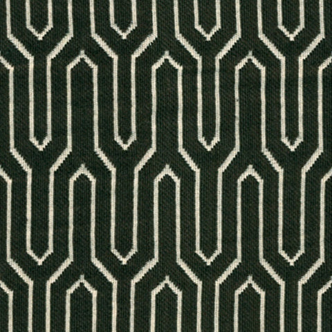 Kravet Fabric By The Yard: Black Maze