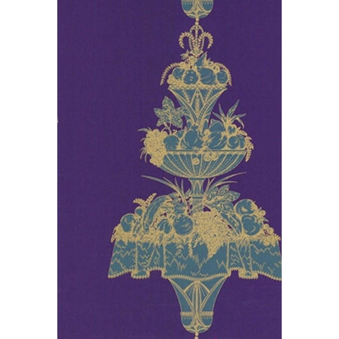 Cole And Son Opera Wallpaper in Violet