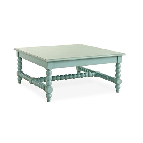 Redford House Clarke Coffee Table in Robin's Egg Blue