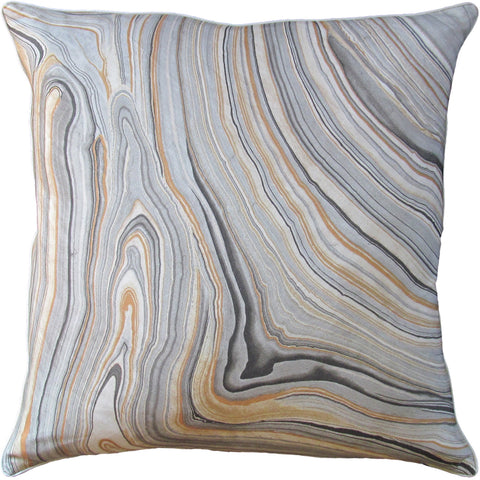 Ryan Studio Cararra Pillow in Smoke