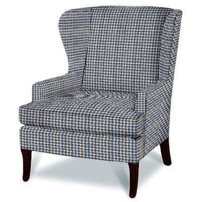Kravet Parker Chair in Houndstooth