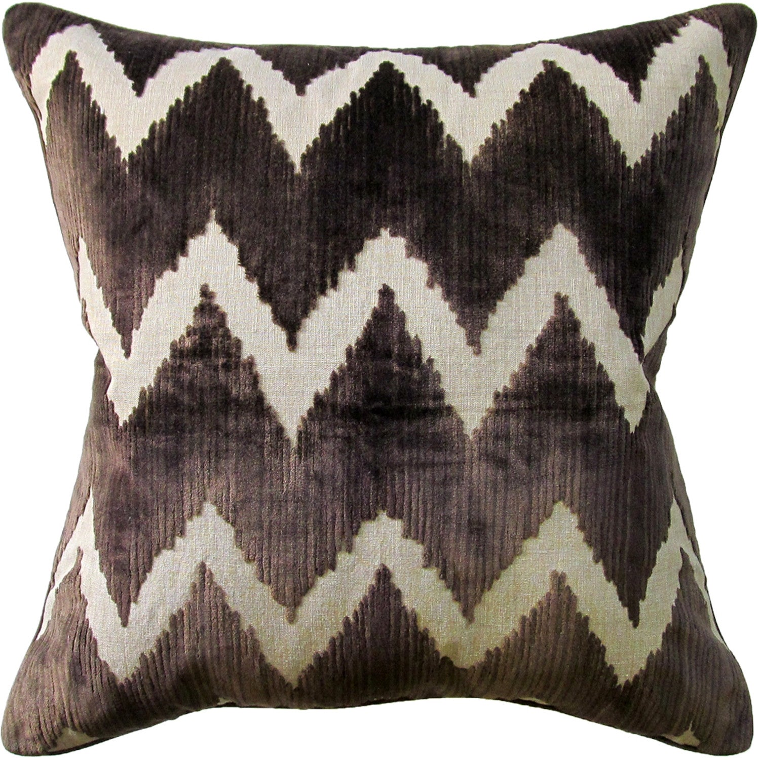 Ryan Studio Watersedge Pillow in Chocolate
