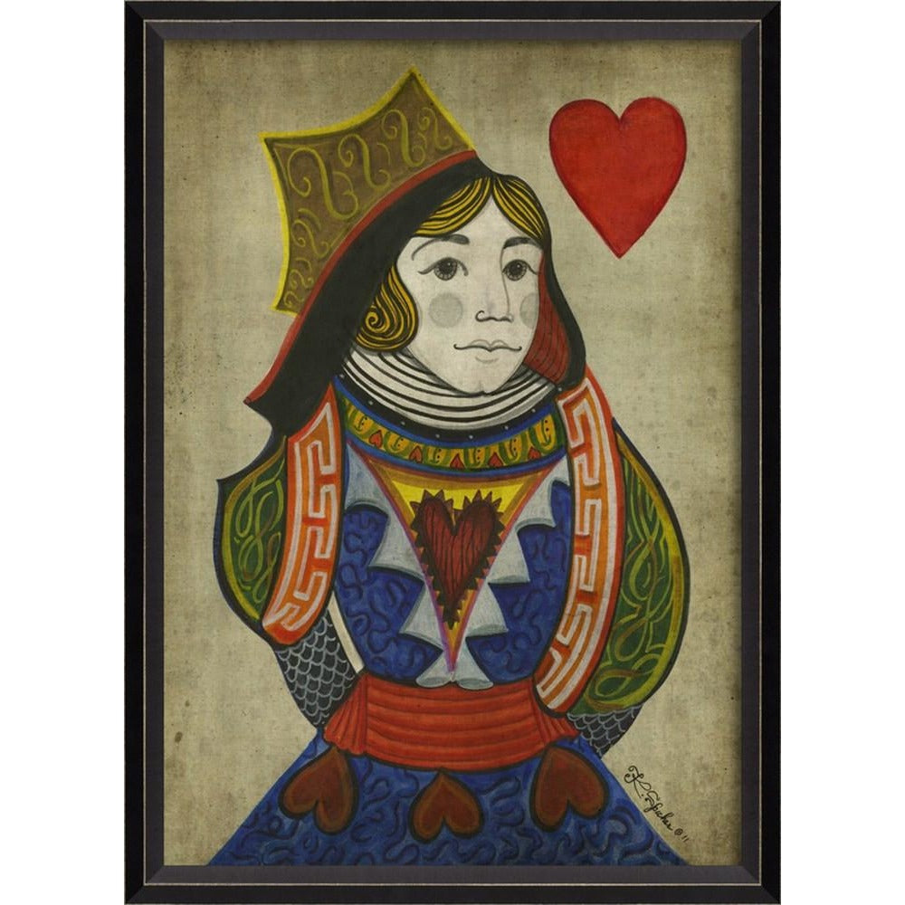 Spicher & Co. Queen of Hearts Card Art