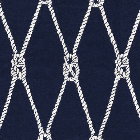 Kravet Fabric by the Yard-Ropes Indigo