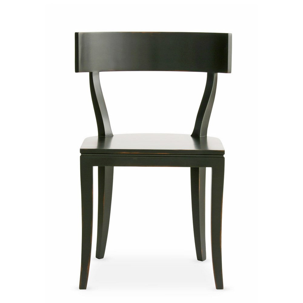 Redford House Thomas Side Chair in Black