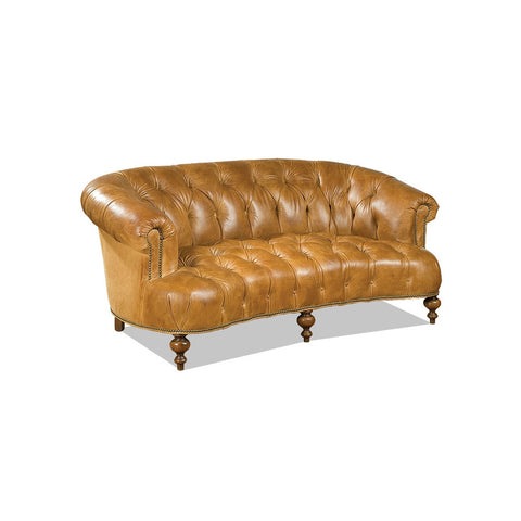 Old Hickory Tannery Liverpool Sofa- Cognac Leather