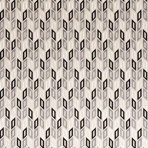Clarke & Clarke Fabric by the Yard Tambour Charcoal
