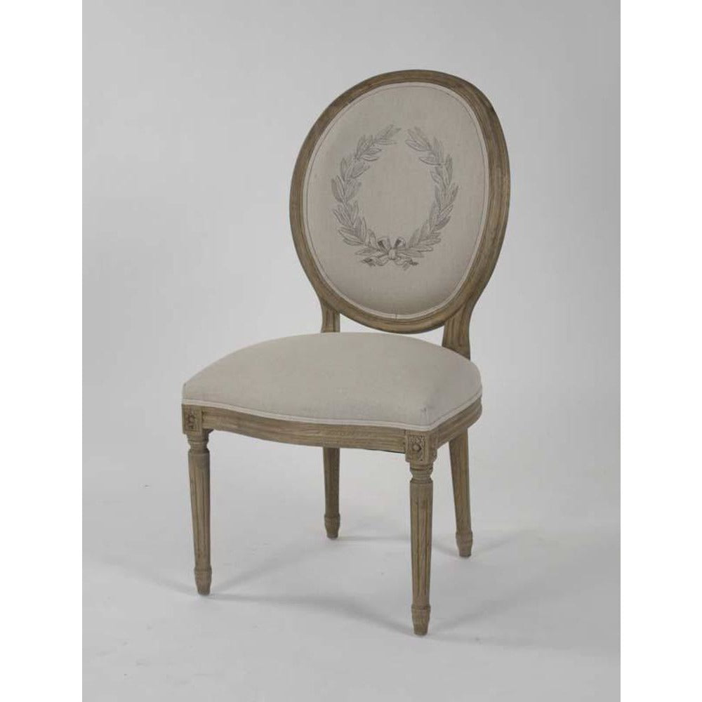 Zentique Medallion Side Chair in Laurel