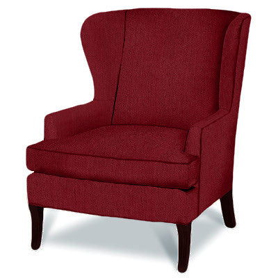 Kravet Parker Chair In Red