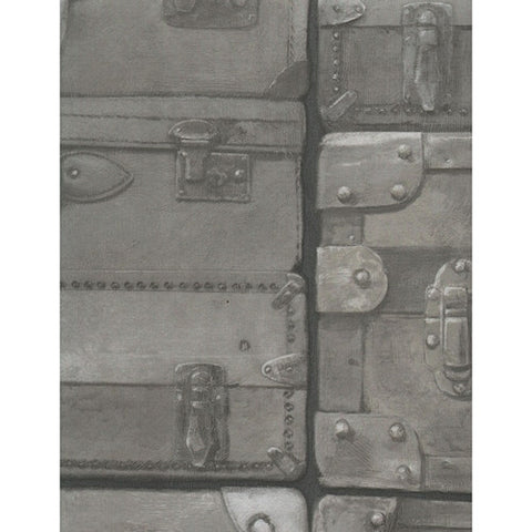Andrew Martin Luggage Wallpaper in Gunmetal