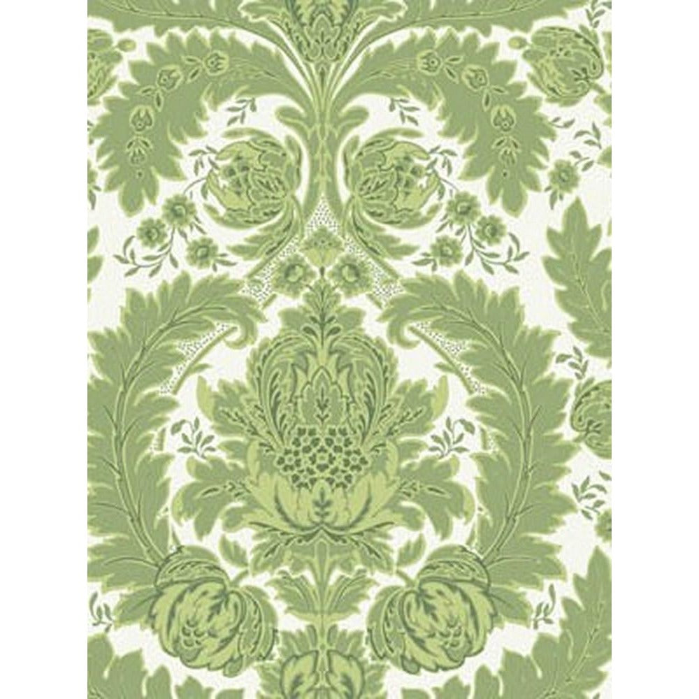 Cole And Son Capemont Wallpaper in Green