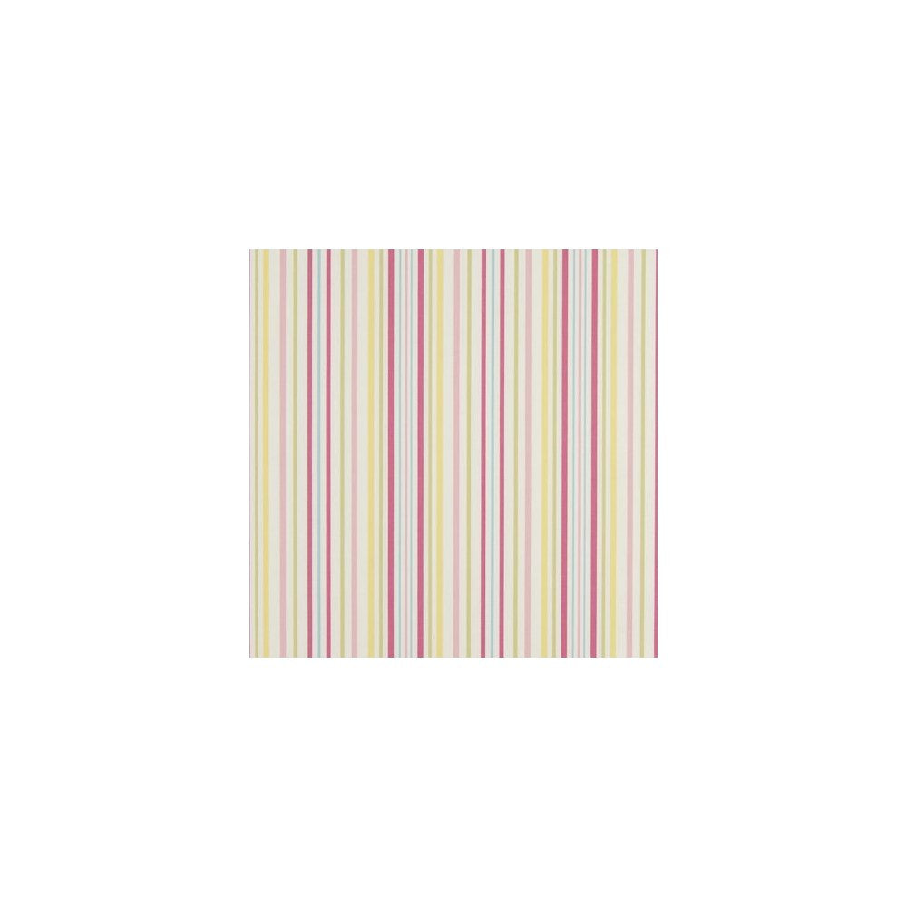 Clarke & Clarke Fabric by the Yard Ella Stripe Sunshine