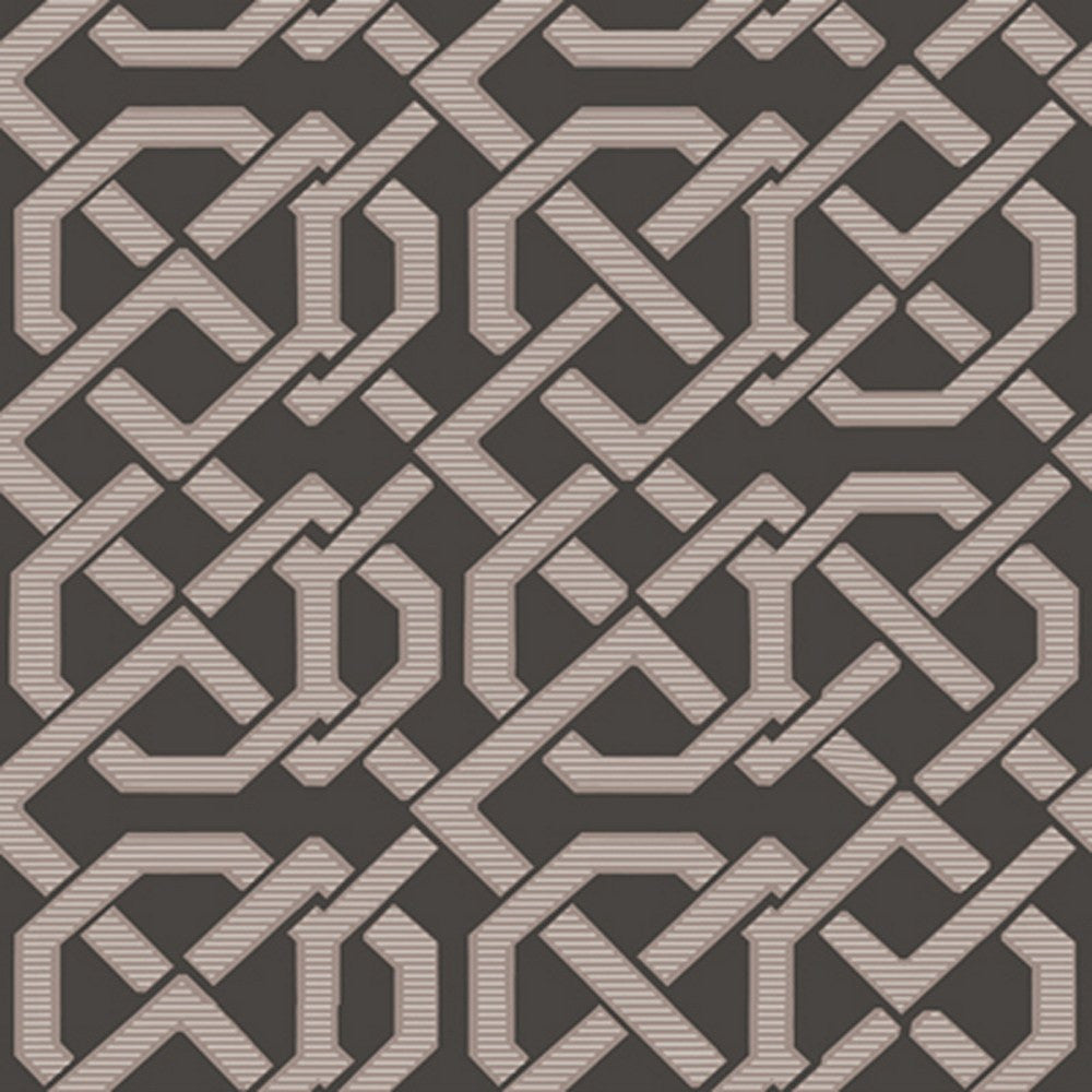 Cole And Son Links Wallpaper in Black