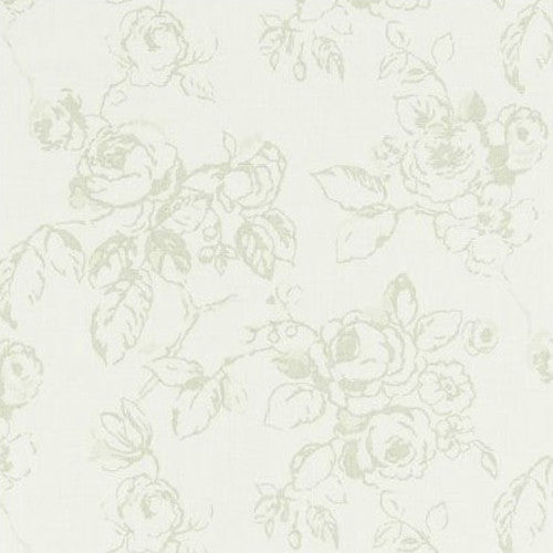 Clarke & Clarke Fabric by the Yard:  Delphine in Sage