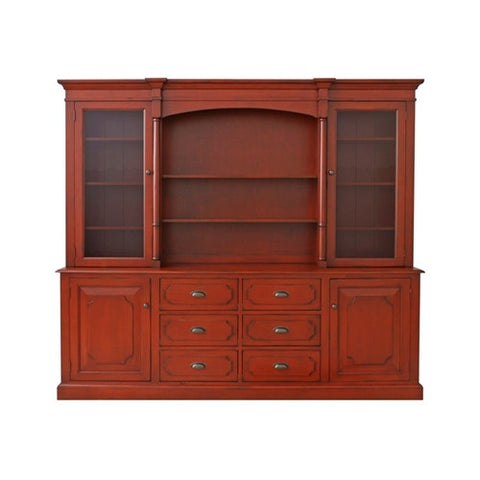 Redford House Lawson Hutch in Red