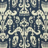 Kravet Fabric by the Yard:  Ikat Sassari in Ink