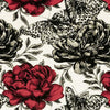 Clarke & Clarke Fabric by the Yard Papillon Rouge