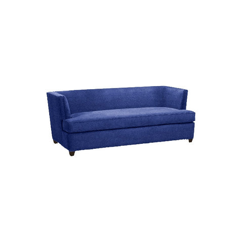 Kravet Clapton Sofa In Blue Velvet